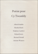 Cy Twombly. Photographs 1951-2010