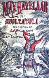 multatuli,henry de jouvenel,littérature,traduction,alexandre cohen,insulinde,pays-bas,max havelaar