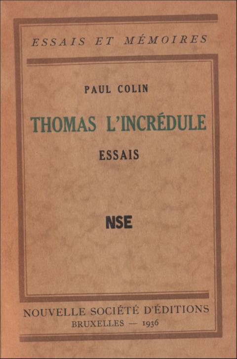 Paul Colin, Rubens, Flandre, Belgique, peinture, littérature