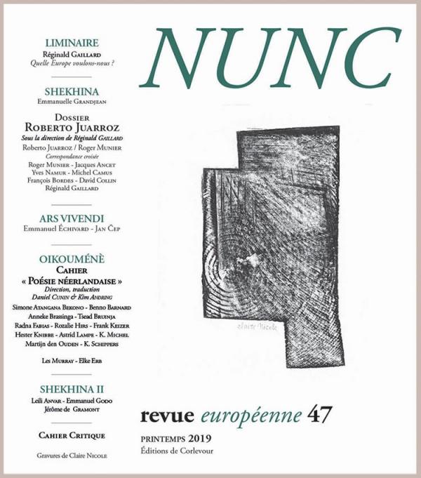 claude henri-rocquet,poésie,éditions Éoliennes,revue nunc