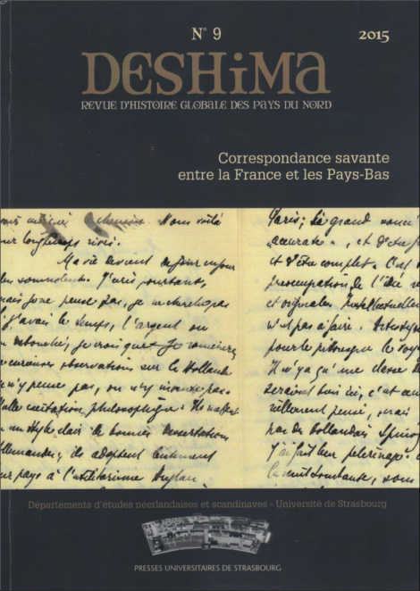 Deshima, revue, pays-bas, flandre, traduction, Johan Huizinga, Marcel Mauss, Georges Dumézil, Jan de VRies Eliade