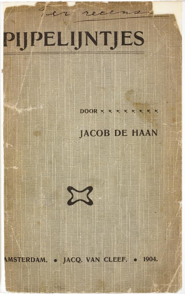 jacob israël de haan,roman,pays-bas,homosexualité,aletrino,georges eekhoud