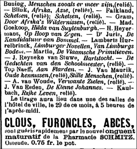 louis couperus,ostende,victor fris,littérature,flandre,pays-bas