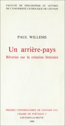 paul willems, flandre, belgique, chronique du cygne, littérature