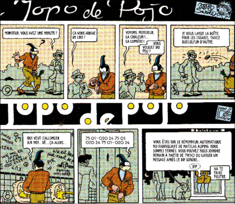 joost swarte,denoël graphic,bd,pays-bas,traduction