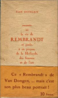 rembrandt,peinture,littérature,van dongen,hollande,france