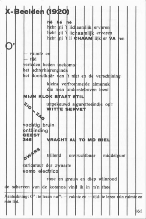 jaap blonk,poésie sonore,pays-bas,theo van doesburg,i.k. bonset,bozar,laurens ham,erik lindner,poètes néerlandais de la modernité,avant-garde