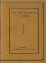 louis couperus,algérie,carthage,georges carpentier,traduction littéraire,hollande,pays-bas,afrique,félicia barbier,voyage