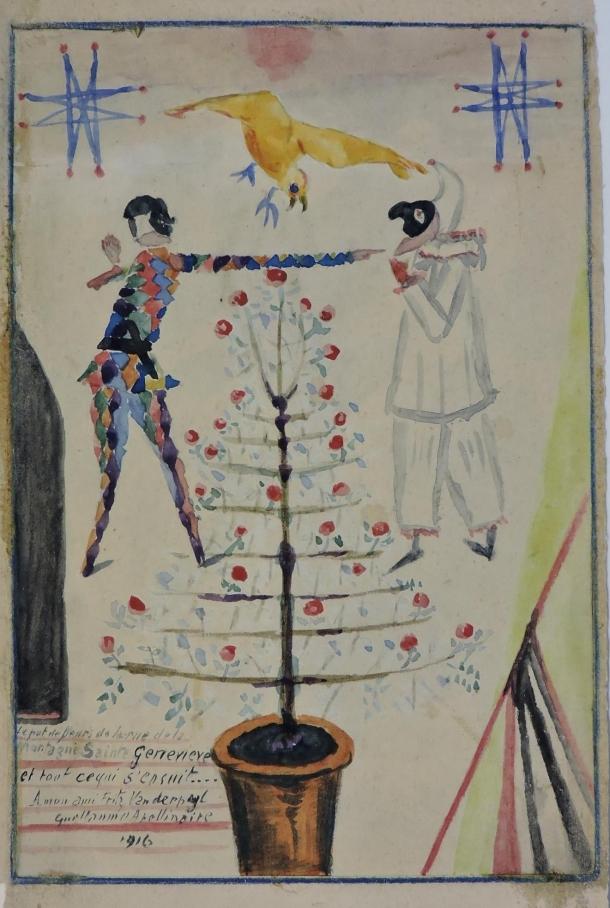 apollinaire,vanderpyl,1914-1918,poésie,guerre,andré dupont,durant,miomandre