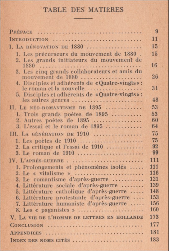 tielrooy,littérature,pays-bas,france,maurice barrès